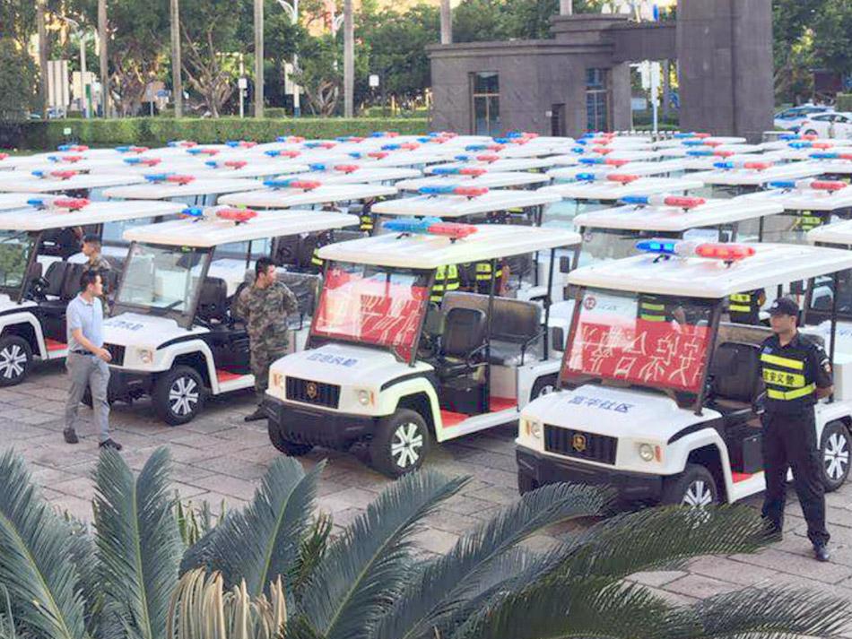 瑪西爾與深圳市警用悍馬巡邏車合作案例